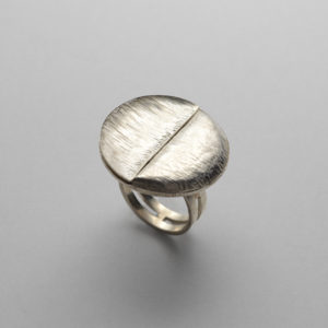 Anello in argento - Leda